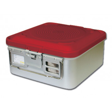 CONTAINER STANDARD 465 x 280 x h 150 mm - 1 filtro - n.p. - rosso