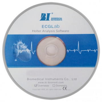 Software Holter Ecg, Compatibile Con I Registratori Bi9800Tl