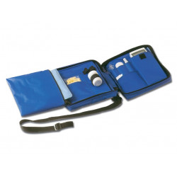 DIABETIC BAG vuoto - nylon blu