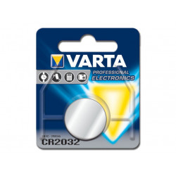 BATTERIA LITIO BOTTONE VARTA 2032